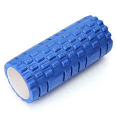 Get Cheap Fitness Direct Foam Roller Trigger Point Textured Massage Yoga Grid Blue Export