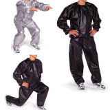Price Fitness Loss Weight Sweat Suit Sauna Suit Exercise Gym Size L Black Export Online China