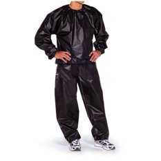 Discount Fitness Loss Weight Sweat Suit Sauna Suit Exercise Gym Size Xl Black China