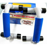 Best Rated Fitness Push Up Bars Gym Strength Training Set Of 2 Bars Blue Intl