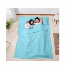 Buy Foldable Portable 100 Cotton Sleeping Bag Hygiene Sleeping Bag For Travel Hotel Accommodation Queen Size 160X215Cm Cheap Singapore