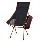 For Sale Folding Chair Fishing Camping Hiking Gardening Portable Seat Stool Orange Intl