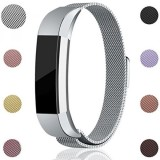 For Fitbit Alta Hr And Alta Bands Maledan Stainless Steel Milanese Loop Metal Replacement Accessories Bracelet Strap With Unique Magnet Lock For Fitbit Alta Hr And Alta Silver Small Intl Lowest Price