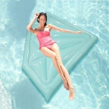 Four Season Big Sale Inflatable Floating Row Diamond Shape Air Sofa Bed Recliner For Beach Swimming Pool Seaside Intl Best Buy