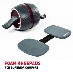 Free Kneepad Sent From Hk Agency Abdominal Wheel Ab Carver Pro Roller Ab Roller Ab Wheel For Home Gym Abdominal Exercise Fitness Equipment Review