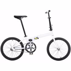 Futur Ab2001 Ys-775-4 20inch Folding Bicycle Single Speed (white) By Alif Computers Pte Ltd.
