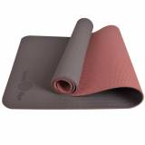 Price Fuzzy Flex Eco Friendly Tpe Premium Anti Slip Yoga Mat 5Mm Caramel Brown Singapore
