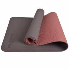 Fuzzy Flex Eco Friendly Tpe Premium Anti Slip Yoga Mat 5Mm Caramel Brown Cheap