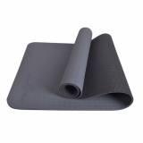 Fuzzy Flex Eco Friendly Tpe Premium Anti Slip Yoga Mat 5Mm Grey Shopping