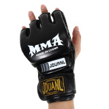 Cheaper Gym Punching Bag Half Mitt Train Sparring Kick Boxing Gloves