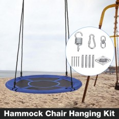 Hammock Chair Hanging Kit - Ceiling Mount Spring Swivel Snap Hook Hardware - Intl By Audew.