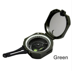 Sale Happy Multi Functional Compass Military Army Sighting Compass Pocket Size With Noctilucent Display For Camping Hiking Climbing Color Army Green Size Height Width 80 70Mm Intl China Cheap