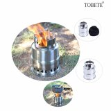 Price Hengsong Portable Folding Stainless Steel Lightweight Wood Stove Outdoor Cooking Picnic Camping Burner Intl China