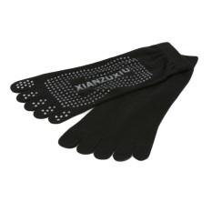 Hequ Sport Pilates Non Slip Grip Socks (black) By Hequ Trading.