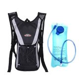 Hydration Backpack Black With 2L Water Reservoir On Singapore