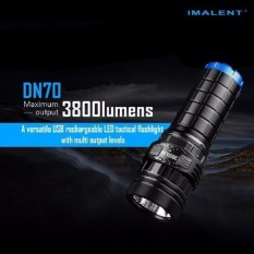 Buy Imalent Dn70 Xhp70 3800Lm 26650 Led Flashlight Tacticalrechargeablelighting Intl Oem Online