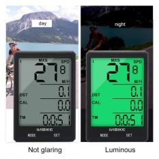 Inbike Portable Lightweight Waterproof Bike Odometer Mountain Bicycle Speedmeter - Intl By Highfly.