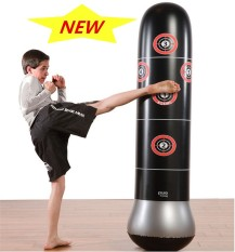 Recent Inflated Boxing Tumbler Bop Bag Boxing Training Tools Inflatable Boxing Tumbler Roly Poly Punching Bag 1 6M Intl