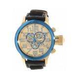 Sale Invicta Russian Diver Men S Black Leather Strap Watch Export Invicta Branded