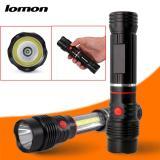 Sales Price Ipx 5 Waterproof Rating Led Multi Function Cob Telescopic Flashlight Intl