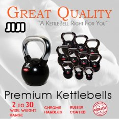 Purchase Jiji 14Kg Rubber Coated Jiez Premium Kettlebell Mix Martial Art Conditioning Explosive Gym Workout Online