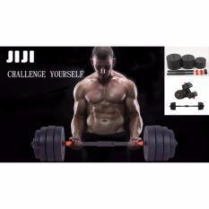 Jiji 30Kg Convertible Adjustable Black Versatile Dumbbell Set 10Kg 15Kg 20Kg 25Kg Up To 30Kg Best Price