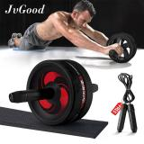 Compare Price Jvgood Ab Roller Wheels With Knee Pad Ab Carver Pro Roller Core Workouts Exercise Fitness With Jump Rope Knee Pad Wrist Band On China
