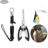Buy Jvgood Fishing Grip Lip Gripper And Fish Holder With Fishing Pliers Stainless Steel Tools Cutter For All Fishing Including Carp Bass Pike And Trout With Sheath