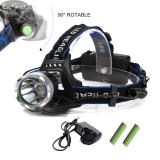 Brand New Jvgood Outdoor Waterproof Led Headlamp Rechargeable Head Lamp Helmet Flash Light Flashlight For Camping Running Outdoor Fishing Hiking And Reading