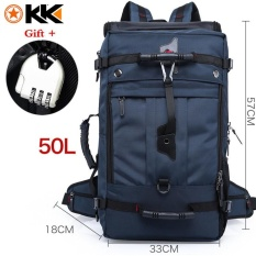 Sale Kaka 50L Shock Resistant 15 6 Inch Laptop Backpack Waterproof Oxford Luggage Backpack Outdoor Sports Backpack Hiking Backpack Climbing Backpack Mountaineering Backpack Travel Bag Intl Kaka Cheap