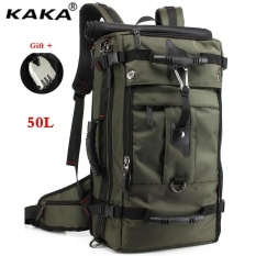 Kaka 50l Shock-Resistant 17 Inch Laptop Computer Bag Luggage Backpack Outdoor Sports Backpack Hiking Backpack Climbing Backpack Mountaineering Backpack Travel Bag With Lock - Intl By Lan.store.