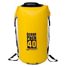 Where To Buy Original Karana Ocean Pack Waterproof Dry Tube Bag 40 Litres Yellow
