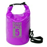 Latest Original Karana Ocean Pack Waterproof Dry Tube Bag 5 Litres Purple