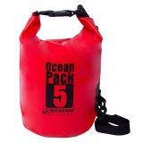 Sale Original Karana Ocean Pack Waterproof Dry Tube Bag 5 Litres Red Karana Ocean Pack Cheap