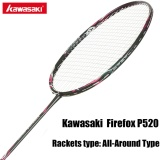 Kawasaki Badminton Rackets With String Professional Badminton Racquets For Beginners Firefox P520 Intl In Stock