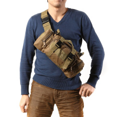Khaki Outdoor Military Tactical Waist Pack Camping Hiking Pouch Bag By Welcomehome.