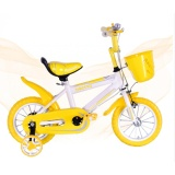 Kids Bicycle 12 Inch Wheel Size Bright Yellow Super Light Weight Model Shopping
