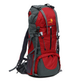 Price Comparisons For Large Capacity Waterproof Nylon Backpack Mountaineering Red