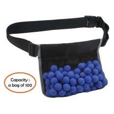 Leegoal Adjustable Waist Bag Toy Bullet Container Tactical Waist Pack For Bullet Ball Rounds Storage Organizer - Intl By Leegoal.