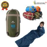 Review Leegoal Compressible Outdoor Camping Sleeping Bag Envelope Sleeping Bag Army Green China