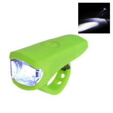 Best Offer Leegoal Waterproof High Bright Bike Light 3W Usb Rechargeable Led Bicycle Front Light With Easy Install Green