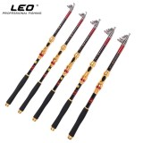 Low Cost Leo Exclusive Carbon Fiber Fishing Rod Telescopic Sea Fishing Pole Metal Reel Seat Baitcasting Fishing Rods 2 7M Intl