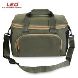 Best Offer Leo Square Multifunctional Fishing Tackle Bag Canvas Waist Lure Pack Intl