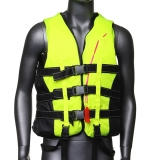 Life Jacket Vest Pfd Fully Enclose Foam *d*lt Boating Size L Whistle Export Deal