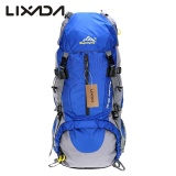 Cheaper Lixada 50L Waterproof Outdoor Sport Hiking Trekking Camping Travel Backpack Pack Mountaineering Climbing Knapsack With Rain Cover Intl