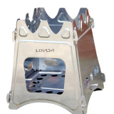 Where Can You Buy Lixada Compact Folding Wood Stove For Outdoor Camping Cooking Picnic Intl