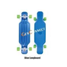 Sale Longboard 31 Inch Skateboard Blue Genconnect Pte Ltd