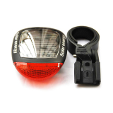 Price Comparisons For Lucky Hot Sell New Bike Accessorie Solar Power Led Bicycle Bike Rear Tail Lamp Light Red Waterproof Flash Bikes Parts Led Lamps 1Stl Intl