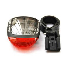 Where To Buy Lucky Hot Sell New Bike Accessorie Solar Power Led Bicycle Bike Rear Tail Lamp Light Red Waterproof Flash Bikes Parts Led Lamps 1Stl Intl