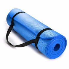 Luowan 1Cm Extra Thick Yoga And Exercise Mat With Carrying Strap Intl Promo Code